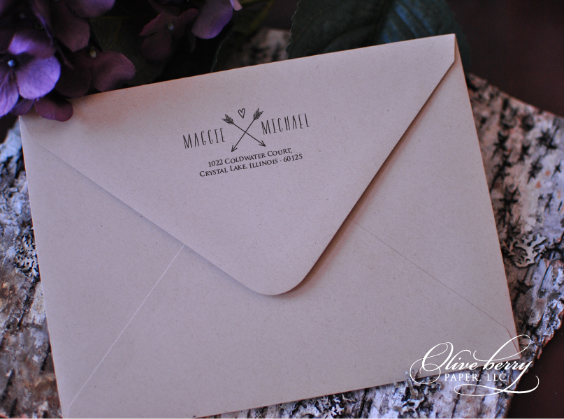 Olive Berry Paper, LLC Invitations And Social Stationery With A .
