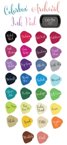 Ink-Pad-Colors